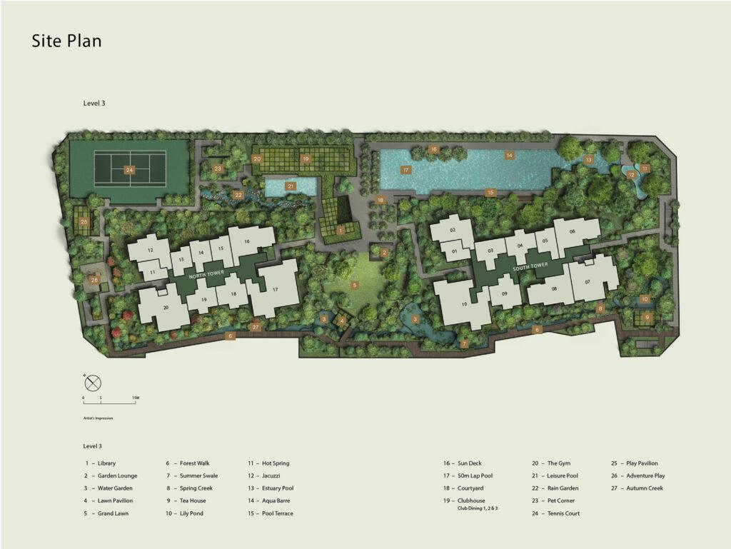 Midtown Modern Site Plan 1 Singapore