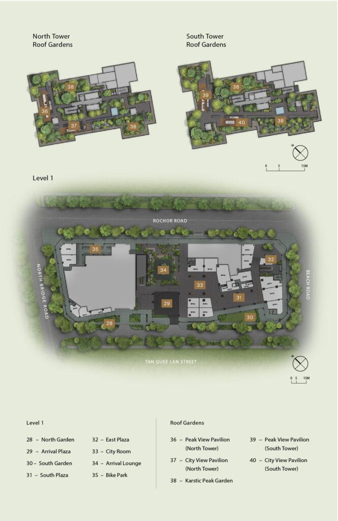 Midtown Modern Site Plan 2 Singapore